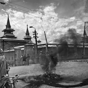The turmoil concerns an old inhabitant of Srinagar.